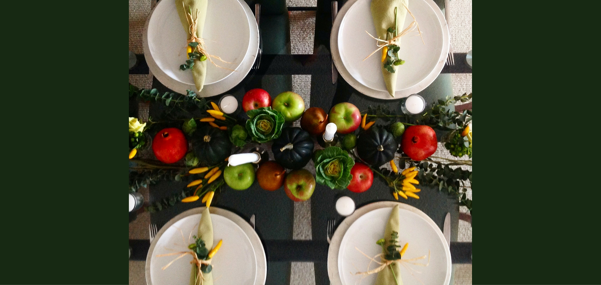 Eco-friendly Table Settings for Thanksgiving