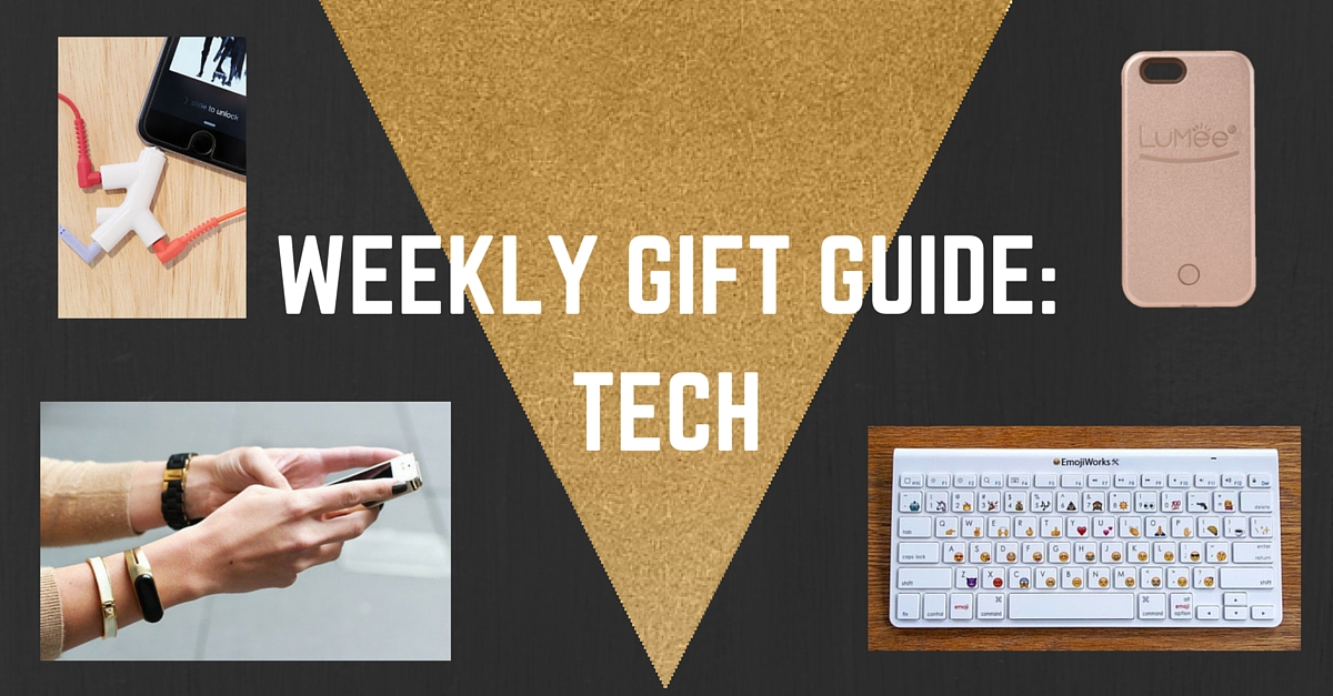 WEEKLY GIFT GUIDE-TECH