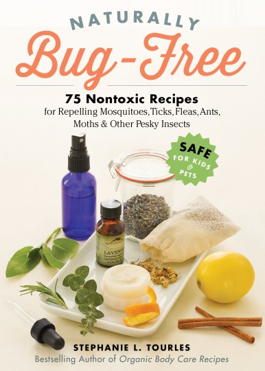 Bug Free- a book written by Tourles on non-toxic bug repellents