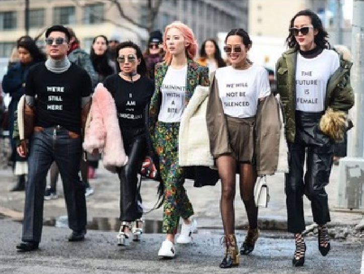 FASHION ACTIVISM: SAY IT WITH A T-SHIRT