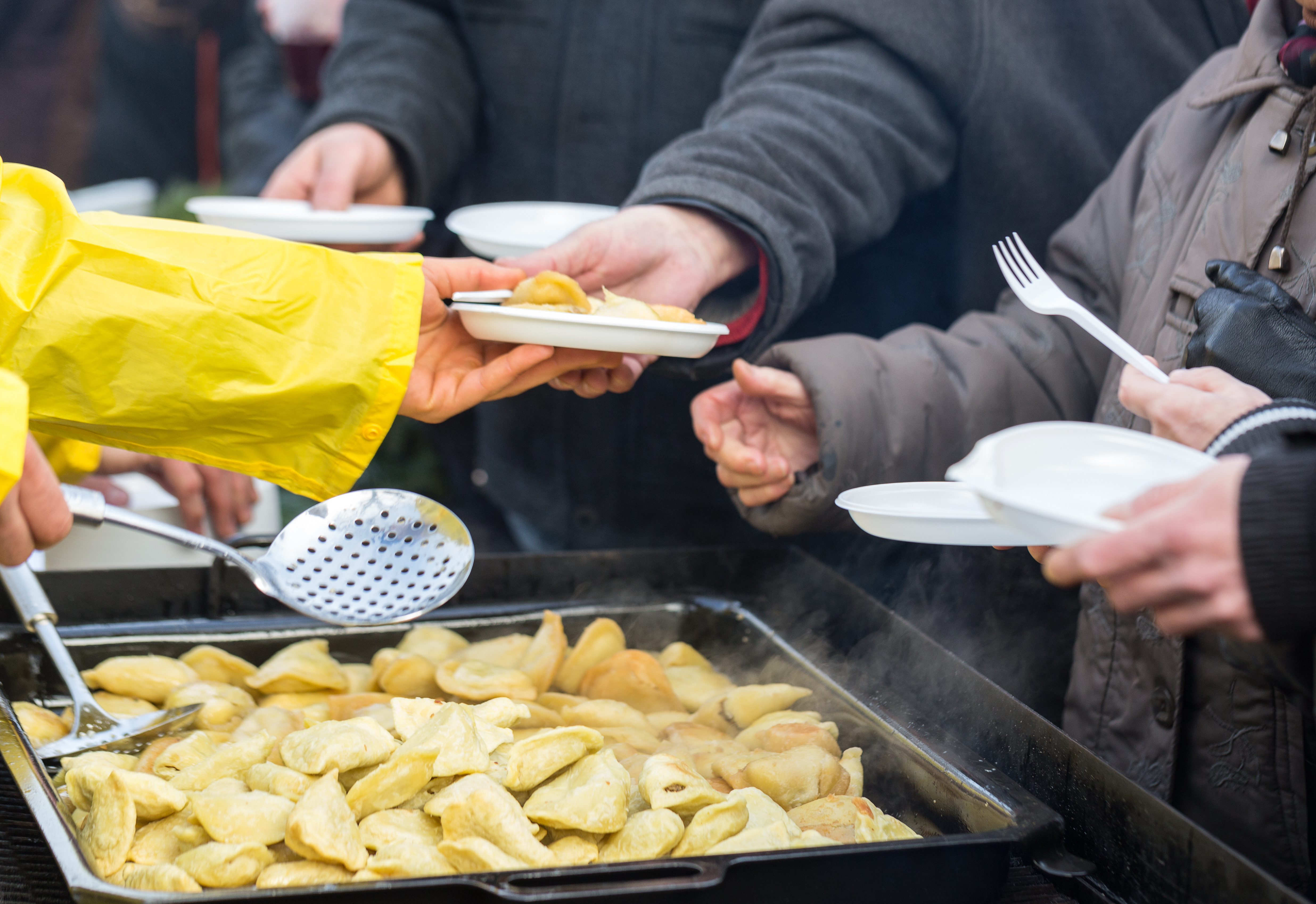FOOD BANKS, FOOD KITCHENS TO SUPPORT