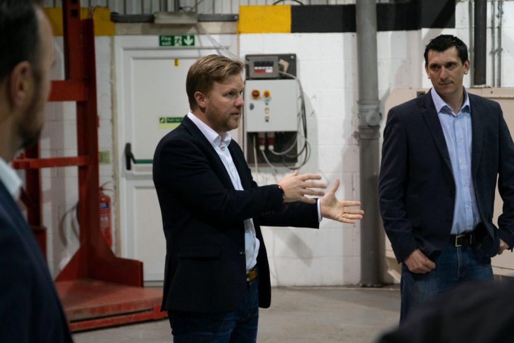 Toby McCartney CEO of MacRebur